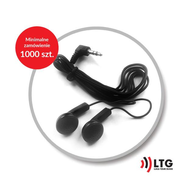 Słuchawki jednorazowe LTG-2 stereo